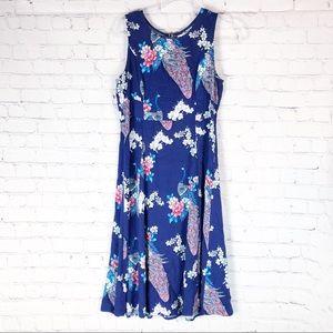 Sunny Girl | ModCloth peacock dress